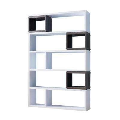 Dorris White Display Bookcase