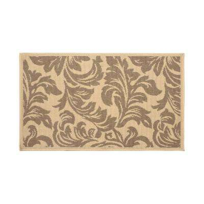 Devon Taupe 6 ft. x 4 ft. Indoor/Outdoor Area Rug