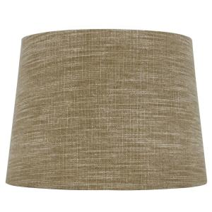 85f838827edd Hampton Bay Mix and Match 14 in. Diax 10 in. H Taupe with Gold ...