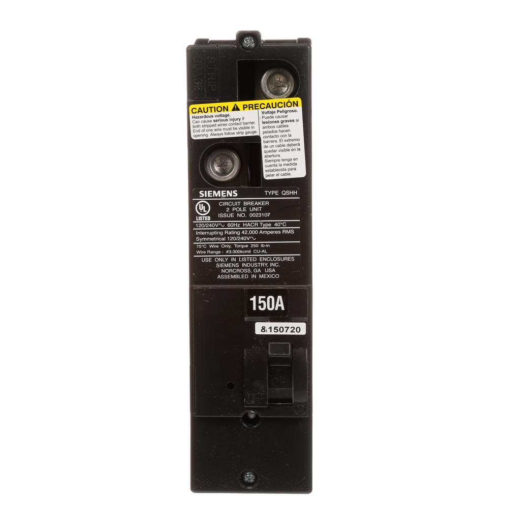 150 Amp Multi-Family Main Breaker Type QS