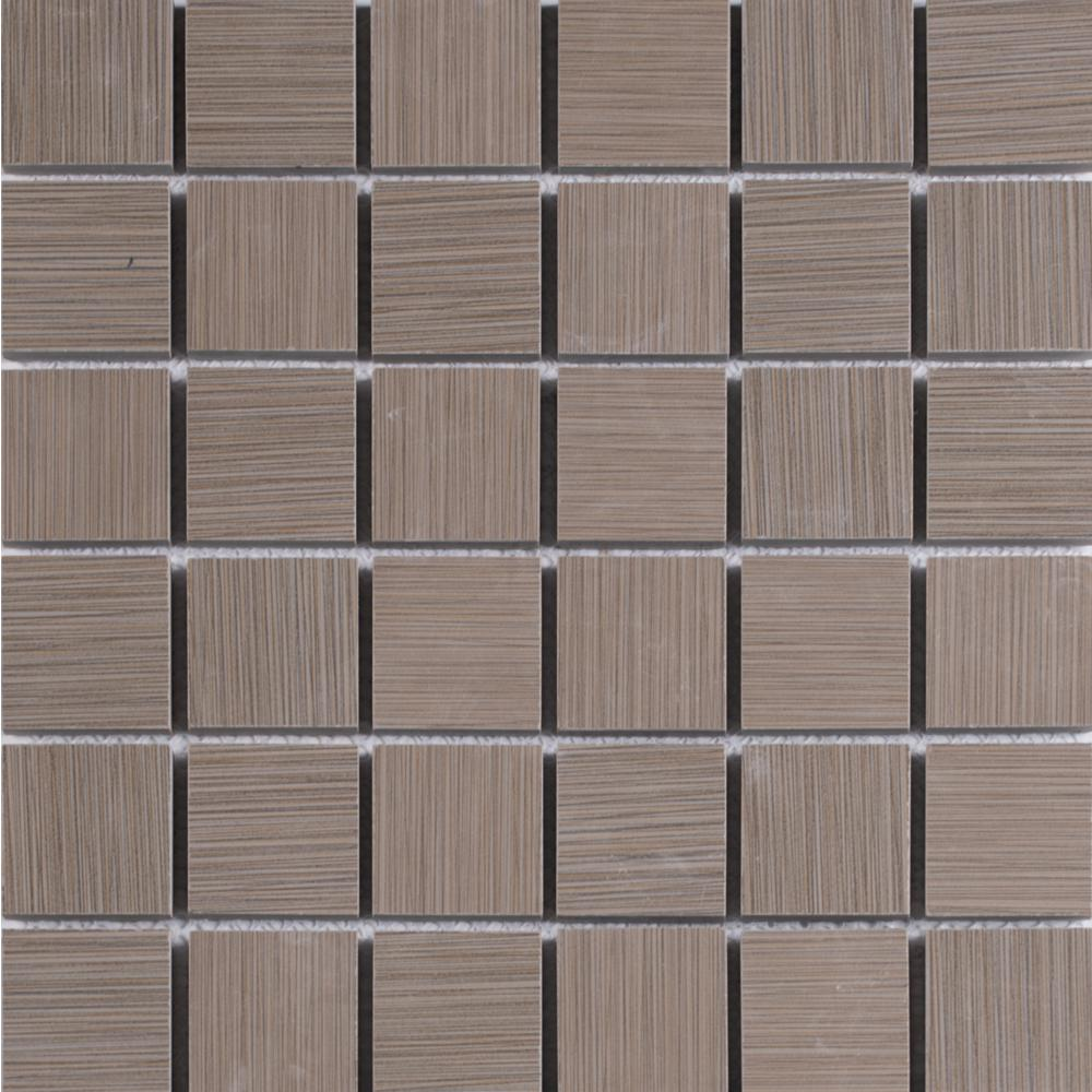 Grays kitchen tile flooring the home depot metro charcoal 12 in x 12 in x 10 mm porcelain mesh mounted dailygadgetfo Gallery
