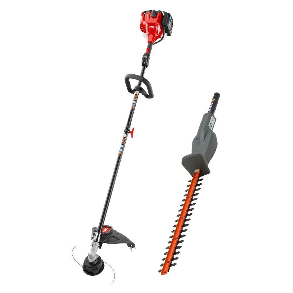Toro 2-Cycle 25.4cc Attachment Capable Straight Shaft Gas...