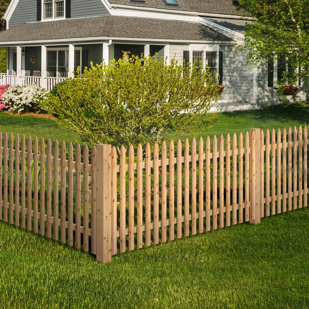 Ed Moulded Stockade Fence Panel