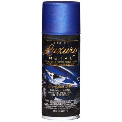 11 oz. Luxury Metal Ultrasonic Blue Metallic Spray Paint