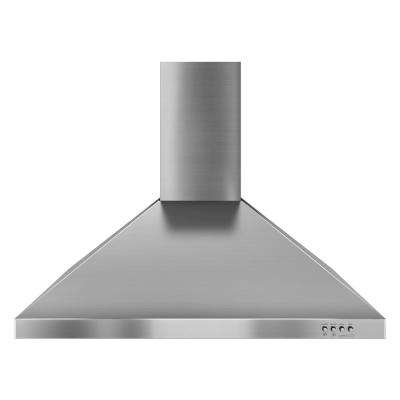 Gold 30 in. Convertible Range Hood in Stainless Steel
