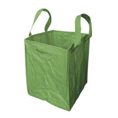 48 Gal. Multi-Purpose Re-Usable Heavy-Duty Garden Tote Bag with Reinforced Shoulder Straps and Side Handles