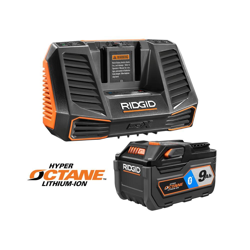 RIDGID 18-Volt 9Ah Li-Ion Battery Starter Kit + 1 Bonus Tool Deals