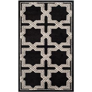 Amherst Anthracite/Gray 3 ft. x 5 ft. Area Rug