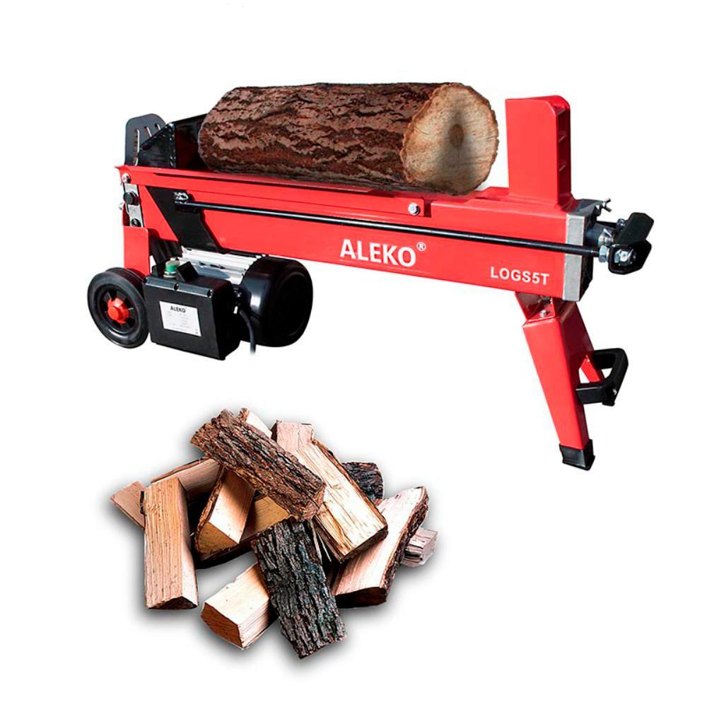 5-Ton 15 Amp Electric Log Splitter