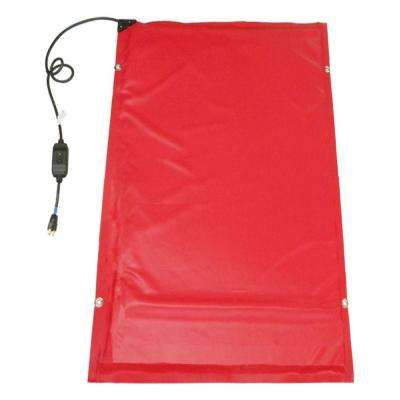 6.5 ft. x 3 ft. Heated Concrete Curing Blanket