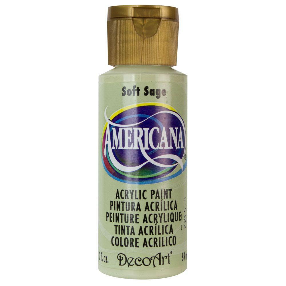 Americana 2 oz. Soft Sage Acrylic Paint