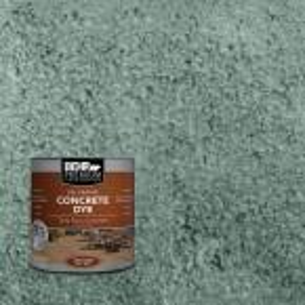 Behr Premium 1 Qt Cd 822 Emerald Pool Concrete Dye 86304