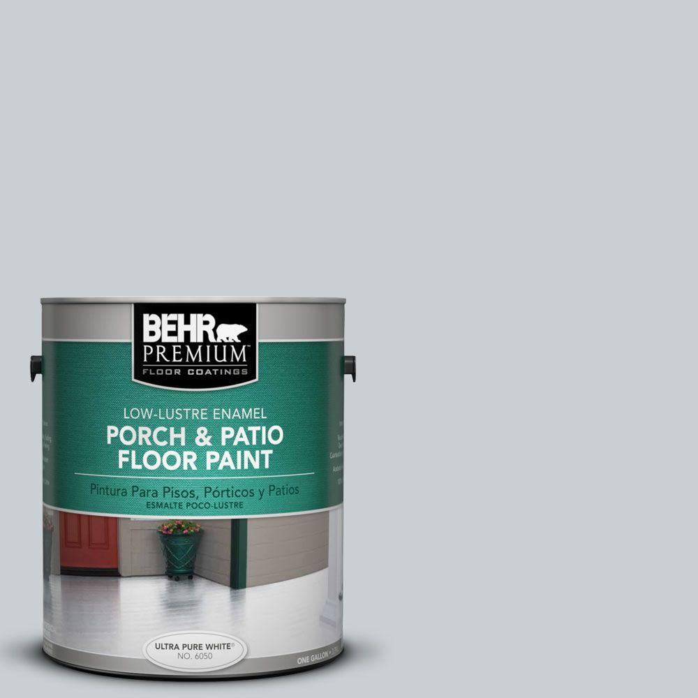 BEHR Premium 1 gal. #PFC-61 Foggy Morn Low-Lustre Interior/Exterior Porch and Patio Floor Paint