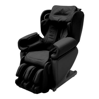 Kagra Black Modern Synthetic Leather Premium Super Stretch 4D Massage Chair