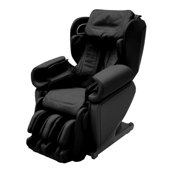 Synca Wellness Kagra Black Modern Synthetic Leather Premium Super Stretch 4D Massage Chair