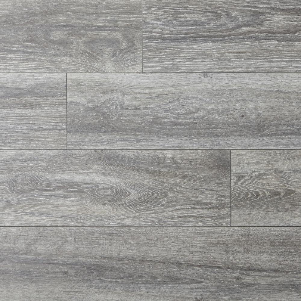 Take Home Sample - Water Resistant EIR Silverton Oak 8 mm Laminate Flooring - 5 in. x 7 in.