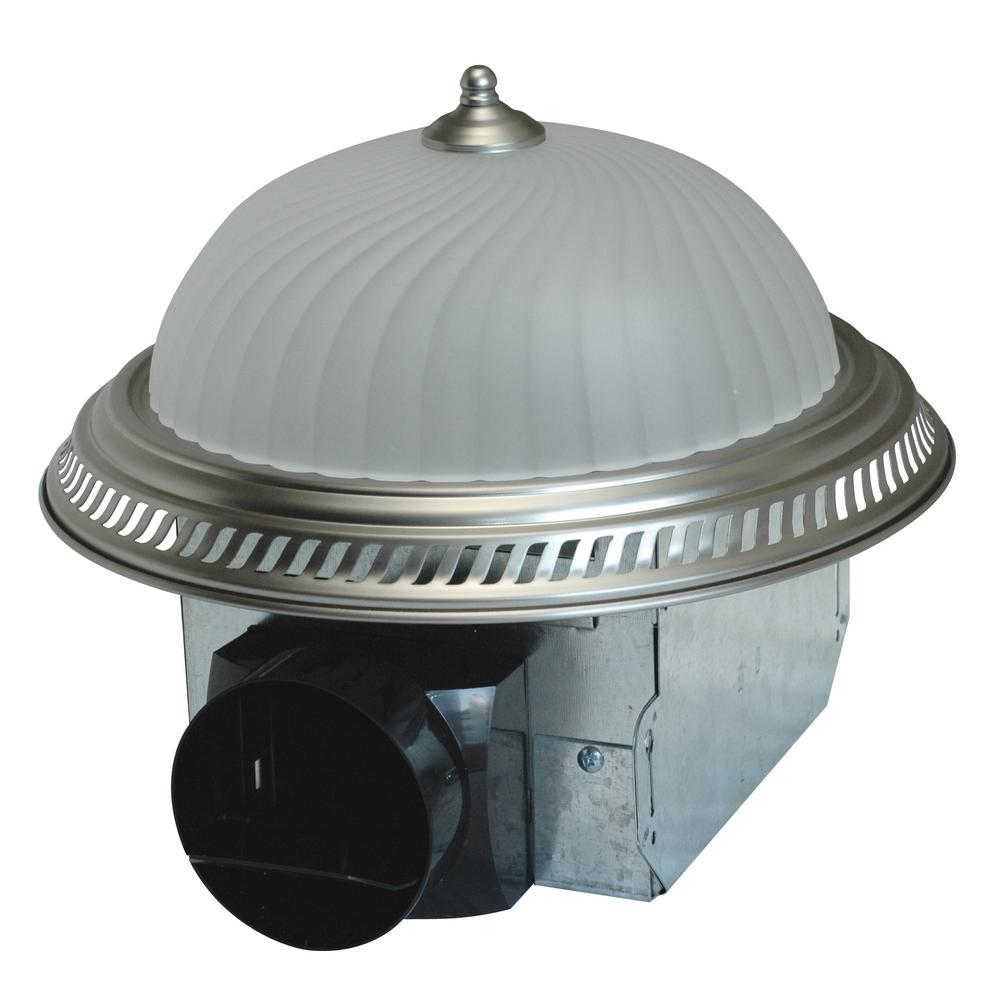 Hampton Bay 70 CFM No Cut Ceiling Mount Exhaust Bath Fan