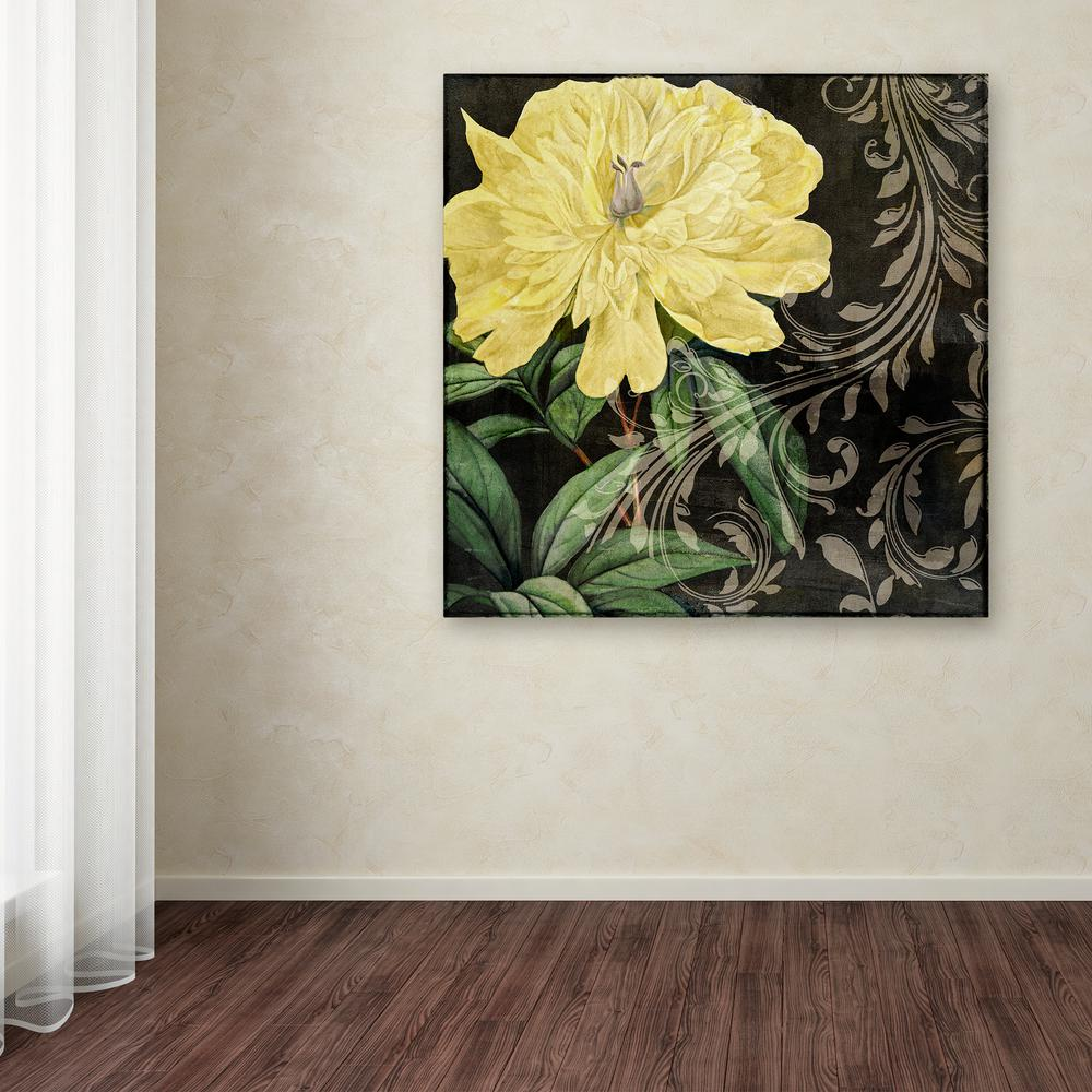 "18 in. x 18 in. ""Ode to Yellow I"" by Color"
