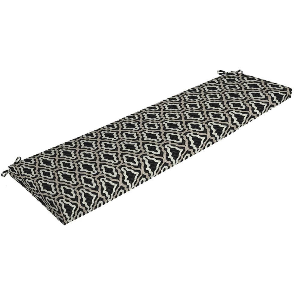 Arden Selections DriWeave Amalfi Trellis Outdoor Bench Cushion
