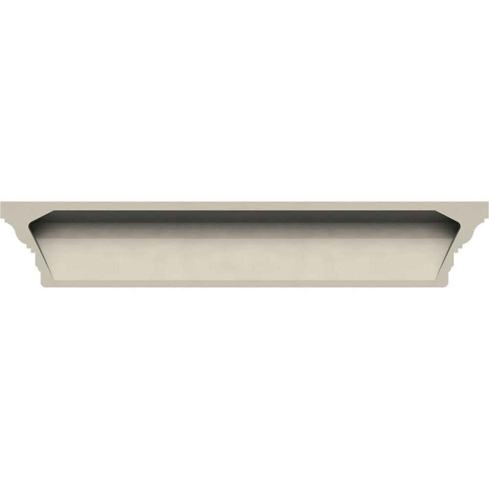 Ekena Millwork 1 1 4 In X 114 In X 7 7 8 In Polyurethane Standard Crosshead Moulding Crh08x114st The Home Depot