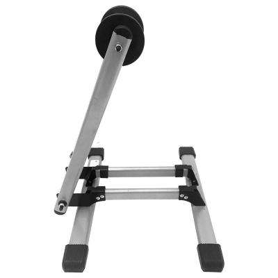 Foldable Floor Bike Stand Fits Sports Bicycles
