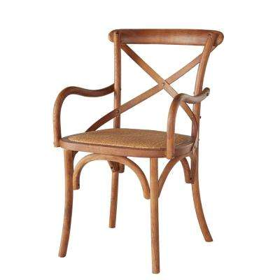 Hyde Cane Cafe Dining Arm Chair