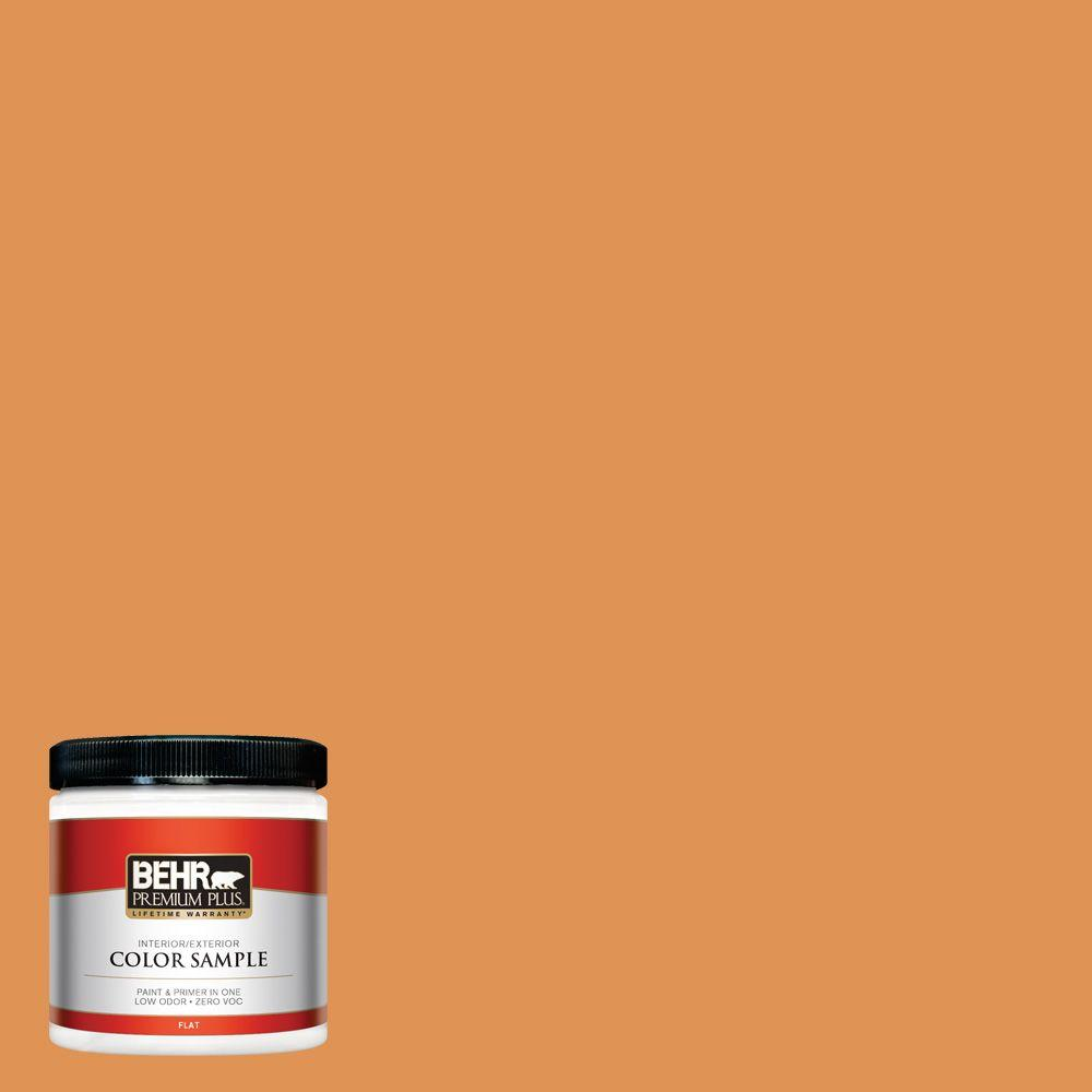 8 oz. #270D-6 Pumpkin Toast Interior/Exterior Paint Sample