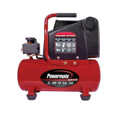 3 Gal. Electric Air Compressor with Extra Value Kit
