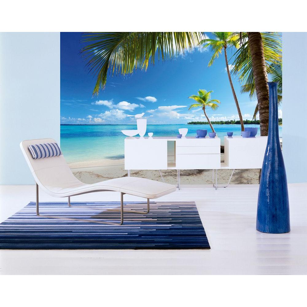 100 in. x 144 in. Caribbean Sea Wall Mural