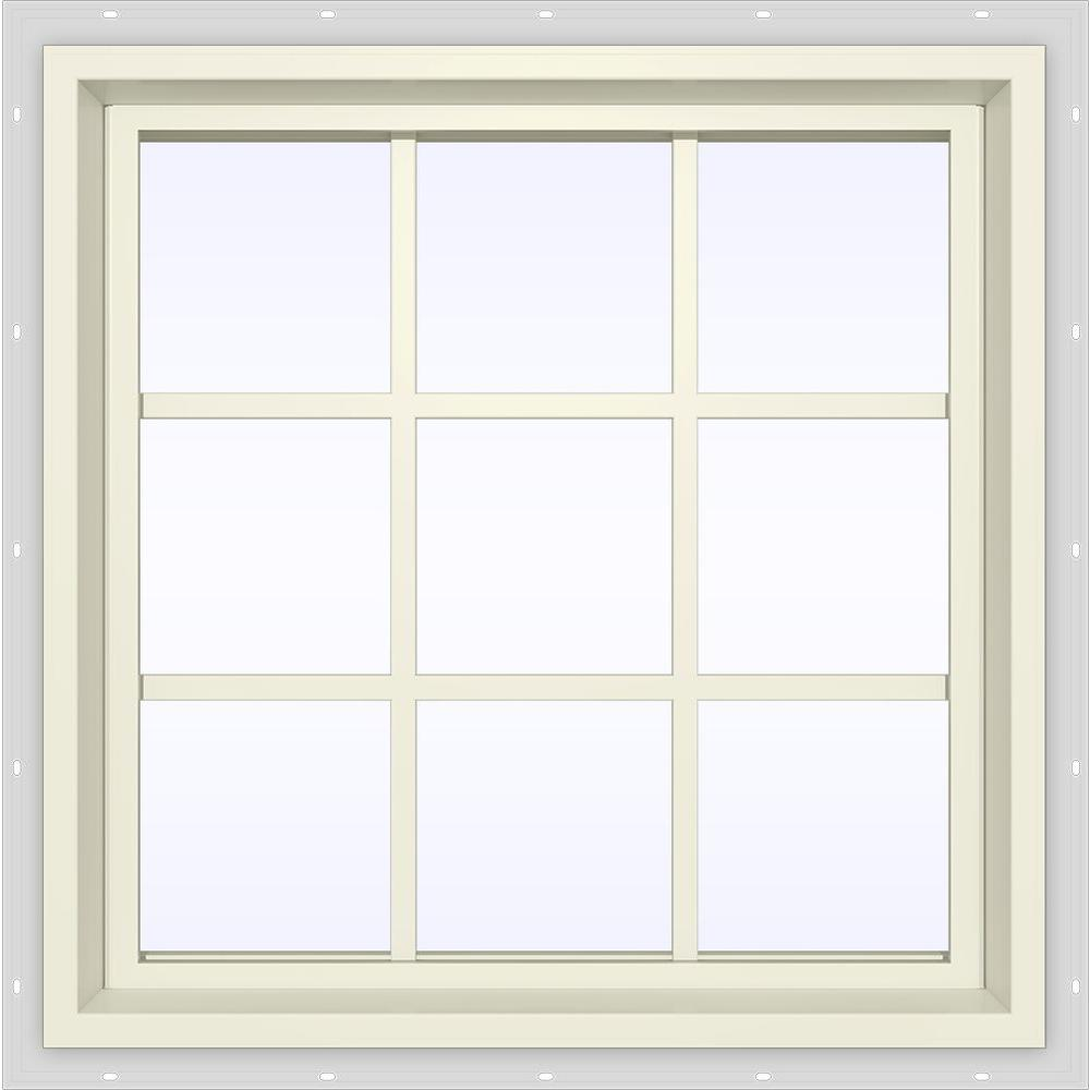 23.5 in. x 35.5 in. V-4500 Series Fixed Picture Vinyl Window