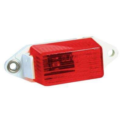 1 5/8 in. Ear Mount Clearance/Side Marker Light, Red