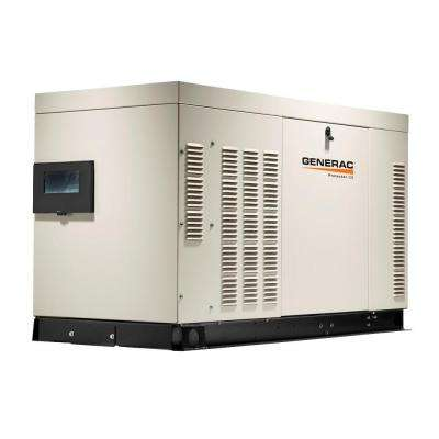 22,000-Watt Liquid Cooled Standby Generator 120/240 Three Phase With Aluminum Enclosure