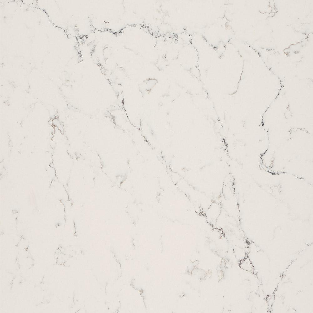 Quartz Countertop Sample In White