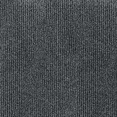 Inspirations Smoke Ribbed Texture 18 in. x 18 in. Carpet Tile (16 Tiles/36 sq. ft. /case)