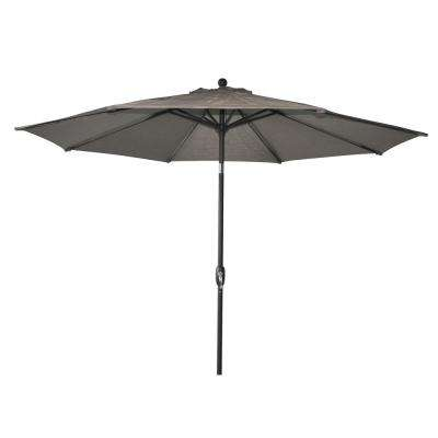 10 ft. Steel Market Patio Umbrella in Crest Ridge Sling