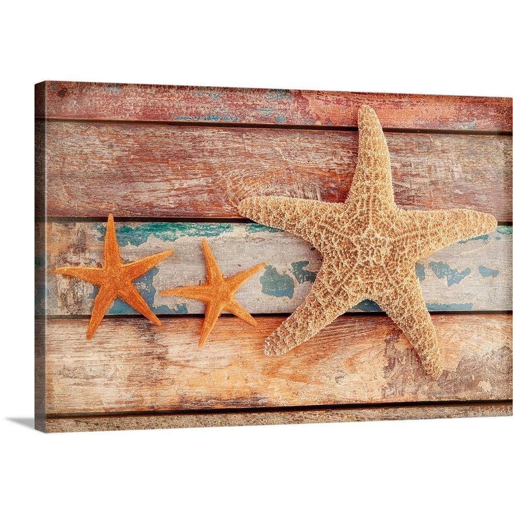 GreatBigCanvas 30 in. x 20 in. ''Seaside Memories'' by Cora Niele