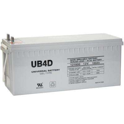 SLA GEL 12-Volt 180 Ah L4 Terminal Battery