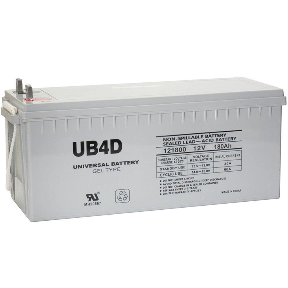 SLA GEL 12-Volt 180 Ah L4 Terminal Battery