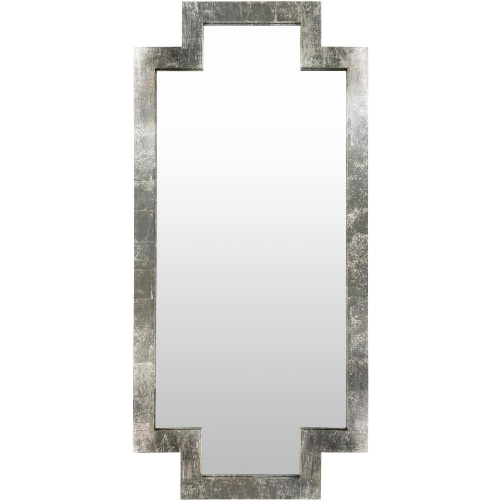 Charna 35 in. x 75 in. Contemporary Framed Mirror