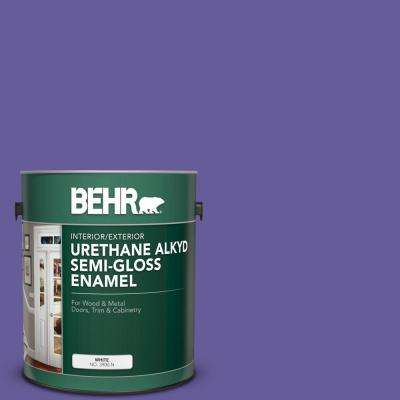 1 gal. #P560-6 Just a Fairytale Urethane Alkyd Semi-Gloss Enamel Interior/Exterior Paint