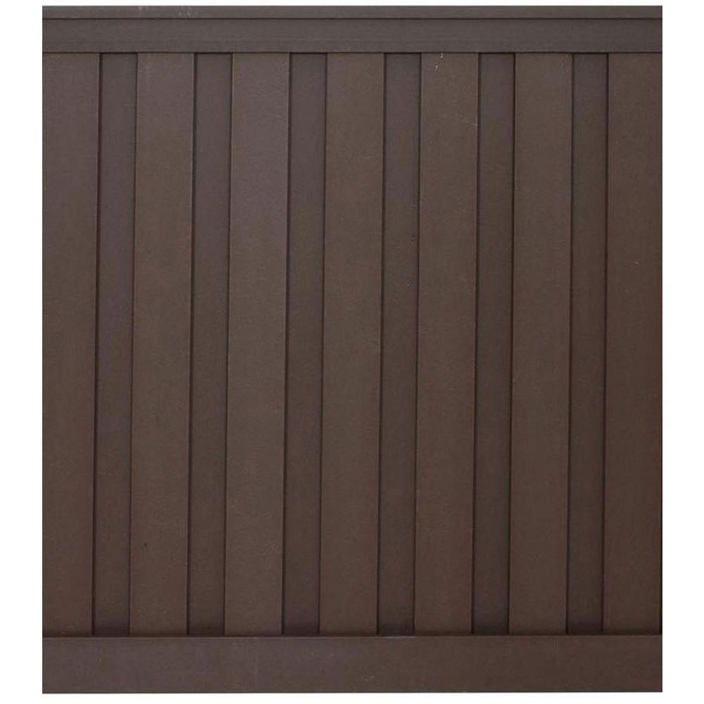 Woodland Brown Wood Plastic Composite Board