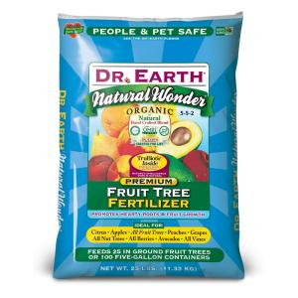 DR. EARTH 25 lb. Natural Wonder Fruit Tree Fertilizer by DR. EARTH