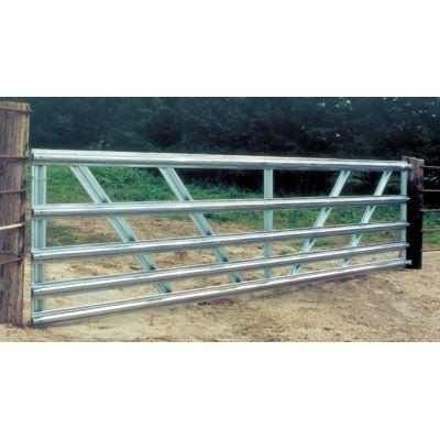 10 Ft. 50 In. High Galvanized 5 Panel Gate