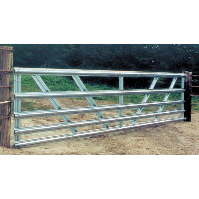 Farmaster 10 Ft 50 In High Galvanized 5 Panel Gate