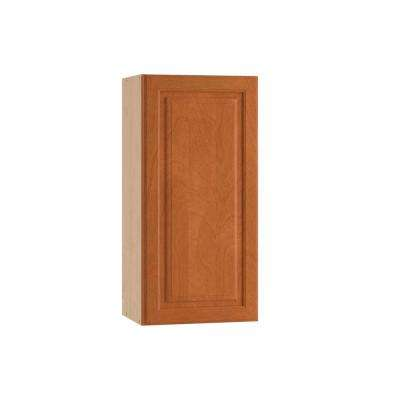 Ancona Ready to Assemble 18 x 30 x 12 in. Wall Cabinet with 1 Soft Close Doors in Cumin