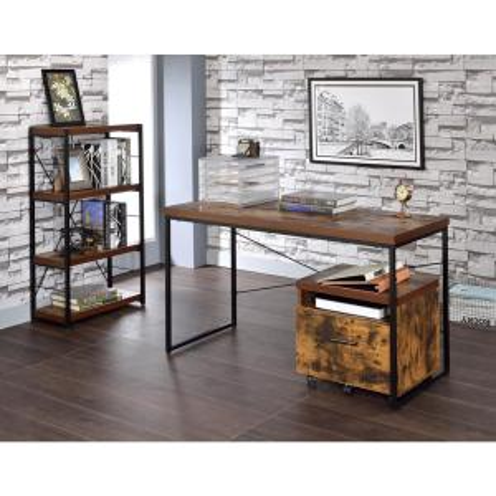 Acme Furniture Bob Weathered Oak Writing Desk by Acme Furniture