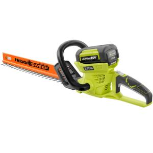 Click here to buy Ryobi Reconditioned 24 inch 40-Volt Lithium-Ion Cordless Hedge Trimmer by Ryobi.