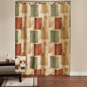 Internet 302698741 Saturday Knight Tranquility 72 In Spice Shower Curtain