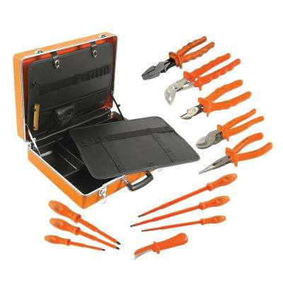 12-Piece 1000-Volt General Utility Insulated Tool Set