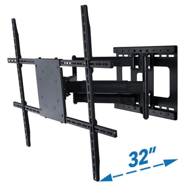 Full Motion TV Wall Mount with Long Extension for 42 in. - 80 in. TV's